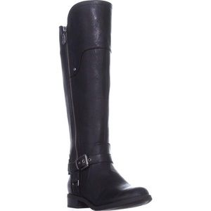 G by Guess Harson Tall Black Riding Boots